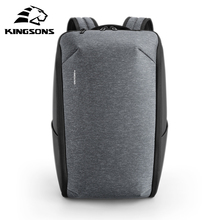 Kingsons Mini Backpack Men 15.6 Inch Laptop Bag Pack Waterproof Travel Back Pack for Teenager Casual Foldable Bag Nylon Rucksack kingsons 2017 large capacity 15 6 inch laptop backpack men business bag women school travel rucksack high quality daily pack