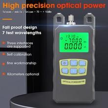 COMPTYCO Высокоточный фотооптический измеритель мощности 70 дБм ~ + 10 дБм Тестер Волоконно оптических кабелей SC/FC 2 вида интерфейсный разъем