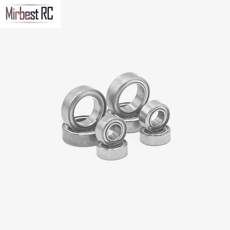 8PCS Ball Bearings Set 4x8x3mm 8x12x3.5mm For WLtoys 1/18 A949 A959 A969 A979 A959-B A969-B RC Car Replacement A949-33 A949-36