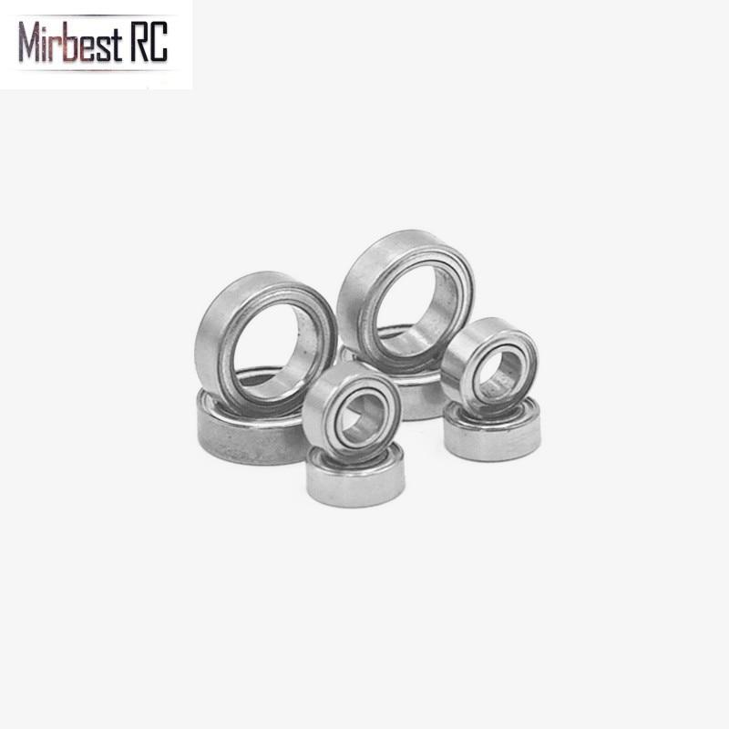 8PCS Ball Bearings Set 4x8x3mm 8x12x3.5mm For WLtoys 1/18 A949 A959 A969 A979 A959-B A969-B RC Car Replacement A949-33 A949-36