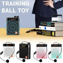 Microphone-Speaker Megaphone Voice-Amplifier-Booster Bluetooth Wireless Teacher Waistband