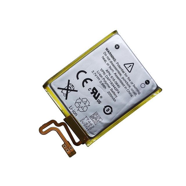 Replacement Internal Li-polymer Battery for iPod Nano 7th 6th 5th 4th 3th 2th 1th Generation