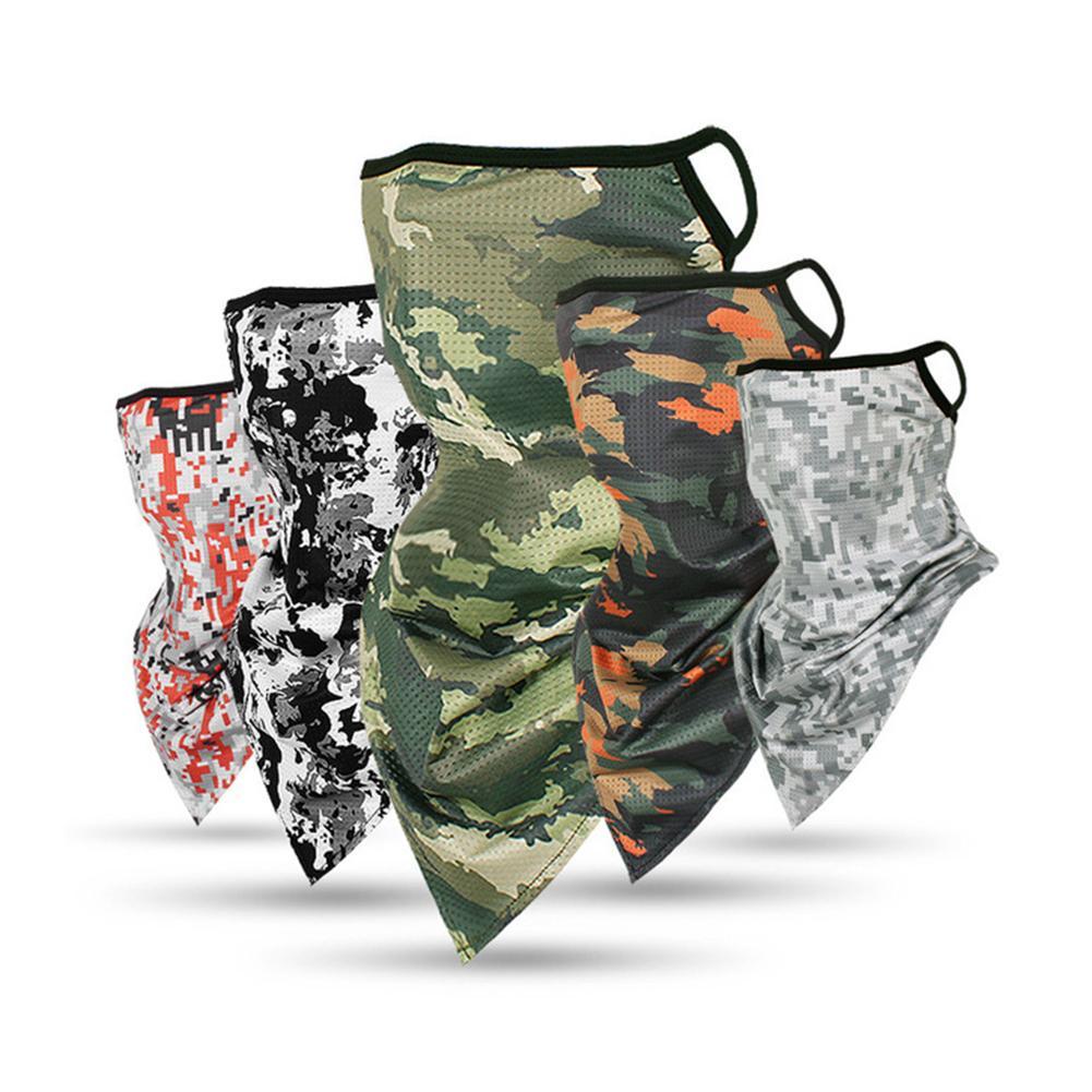 Magic Headband Camouflage Print Tactical Neck Warmer Tube Face Cover Bandana Head Military Bicycle Scarf Wristband Pirate Rag