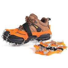 Качественная противоскользящая зимняя обувь для альпинизма 1