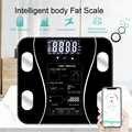 DIDIHOU vücut yağ ölçer zemin bilimsel akıllı elektronik LED dijital ağırlık banyo dengesi Bluetooth APP Android veya IOS