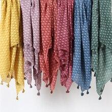 Écharpe hijab en coton une pièce