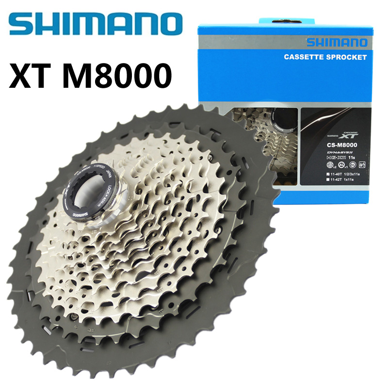 Deore XT CS M8000 Bike Freewheel <font><b>Cassette</b></font> <font><b>11</b></font> Speed 11v Sprocket <font><b>11</b></font>-40T/<font><b>11</b></font>-42T/<font><b>11</b></font>-46T Mountain MTB Bicycle Freewheel 11s image