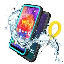 Huawei P30 Pro Водонепроницаемый чехол IP68 принципиально huawei P20 Lite чехол 360 защиты huawei P20 PRO доказательство воды крышка P20Lite PC 3M чехол