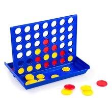 1 Набор 4 в линейной настольной игры детские Ранние развивающие игрушки для детей спортивные развлечения развивающие интеллектуальные игрушки