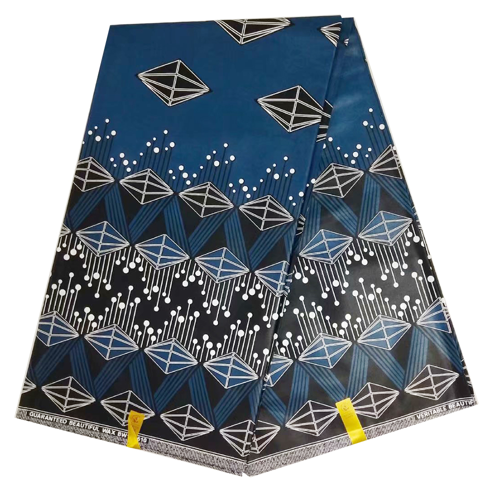 2019 Ankara African Wax Prints Fabric New Java Wax High Quality 100% Cotton Wax Brocade Prints Beautiful Fabric Luxurious Design