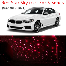 car accessories for BMW BMW 5 Series  G30 2019 2020 2021 LED Star Sky roof