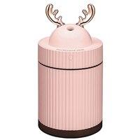 Ultraschall luftbefeuchter Aroma Ätherisches Öl Diffusor Für Home Auto Usb Fogger Mist Maker Mit Led Nacht Lampe Rosa-in Luftbefeuchter aus Haushaltsgeräte bei