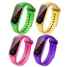 Children Watches LED Digital Wrist Watch Bracelet Kids Outdoor Sports Watch for Boys Girls Electronic Dates Clock Montre Enfant