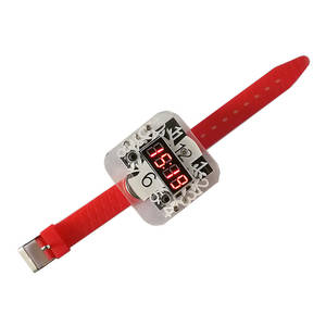 Clock-Kit Microcomputer Electronic Single-Chip DIY LED 51 Watch Training-Production-Parts