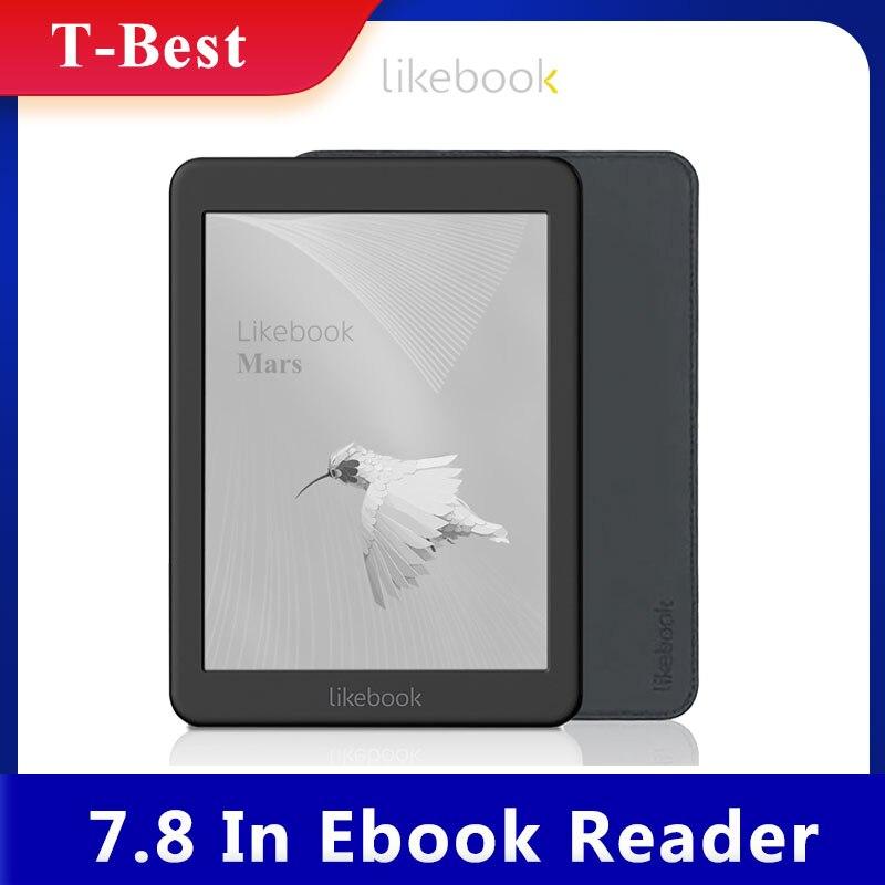 Likebook Mars 7,8 дюймов для чтения электронных книг HD читалка 300PPI 2 ГБ + 16 ГБ, Восьмиядерный с Carta сенсорного экрана 3,5 мм Интерфейс Поддержка Wi-Fi, BT