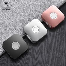 Oatsbasf novo 3 em 1 usb tipo c cabo retrátil para iphone 8 7 plus x xs escondido cabo de carregamento usb para xiaomi huawei samsung