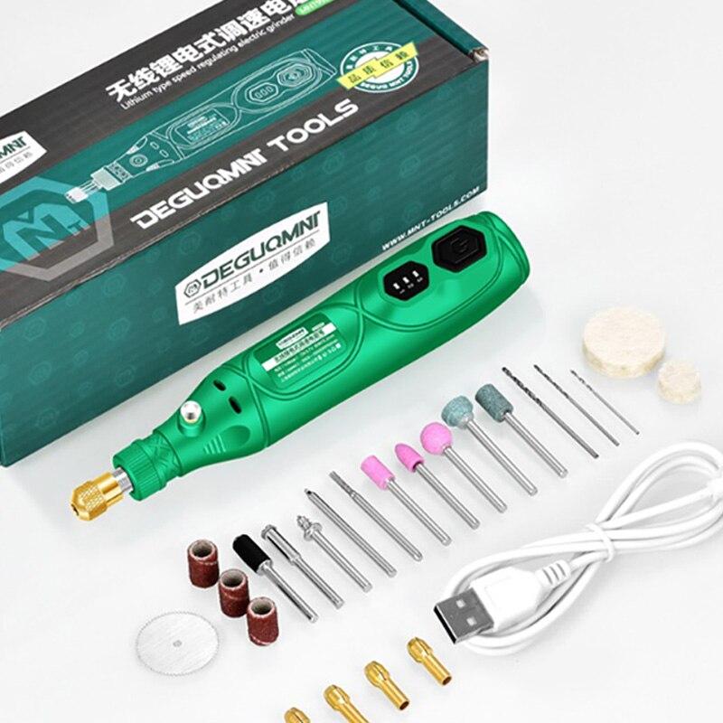 Беспроводной вращающийся инструмент, USB деревообрабатывающая гравировальная ручка, «сделай сам» для ювелирных изделий, металла, стекла, бе...