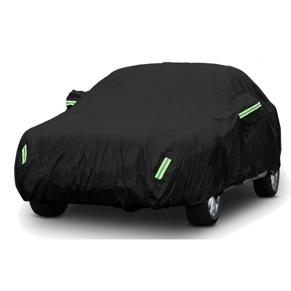 Image 5 - 420D Rain Proof UV SUN Snow Protector Dust Resistant Waterproof Auto Sedan Saloon Hatchback SUV Full Car Cover Coat Shade-in Car Covers from Automobiles & Motorcycles