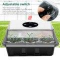 3 Pack Mini Gewächshaus Für Aussaat Fach Aussaat Fach Mit Deckel 12 Zellen Pro Fach Samen Zu Pflanzen Für Garten und Gemüse Patch Werkzeug