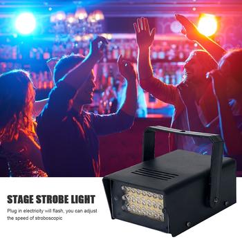 Pilot lampa błyskowa LED biała scena światło błyskowe światła stroboskopowe prezent regulowana prędkość KTV DJ dyskoteka stroboskopowe światło tanie i dobre opinie alloet CN (pochodzenie) Mini Strobe Lights Domowej rozrywki Stage Strobe Lights Holiday Stage Lighting dance halls ktv family etc