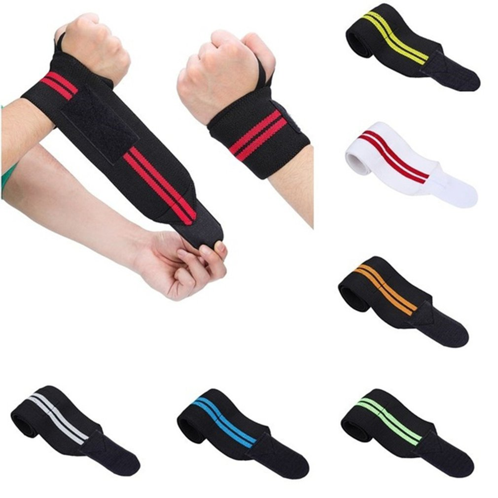 Elastic Winding Strap Sports Wristband Basketball Weightlifting Sports Gear Winding Pressurized Fitness Wrist