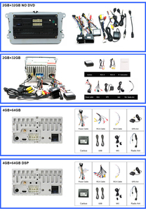 Image 5 - Eunavi 2 דין אנדרואיד DVD לרכב רדיו מולטימדיה נגן GPS עבור פולקסווגן גולף 5 6 פולו בורה ג טה פאסאט b6 b7 Tiguan סאב Autoradio