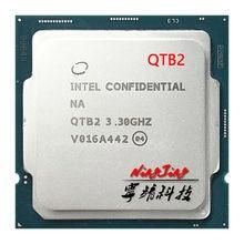 Processador intel, core i9-10900K es i9 10900k es qtb2 3.3 ghz processador cpu de dez núcleos l2 = 2.5m l3 = 20m 125w lga 1200
