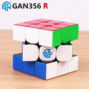 Image 1 - GAN356 R S 3x3x3 קסם מהירות קוביית stickerless מקצועי גן 356R גן 356 אוויר M גן 356 אני חינוכיים קוביות צעצועים