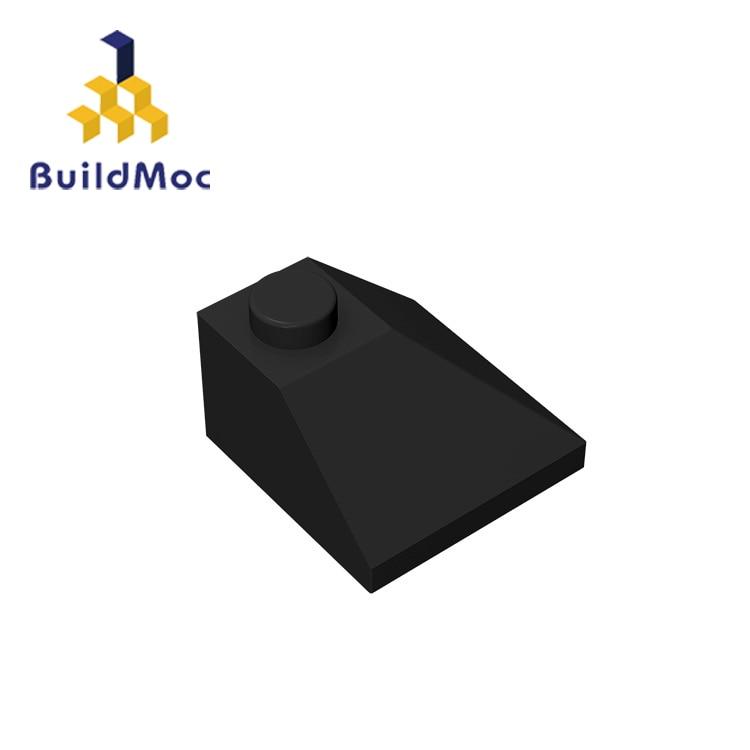 BuildMOC Assembles Particles 3045 Slope 45 2x2 Double Convex Building Blocks Parts DIY  Educational Bricks Toys For Children