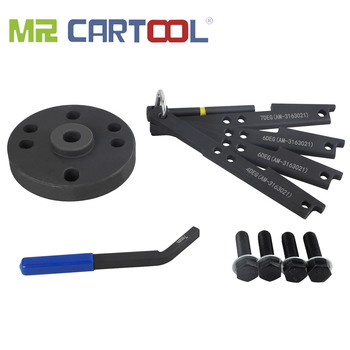 MR CARTOOL 3163021 Cam Timing Tool Kit With 3163530 Engine Brake Adjustment Tool 7MM For Cummins ISX Camshaft Timing Wedge Tool