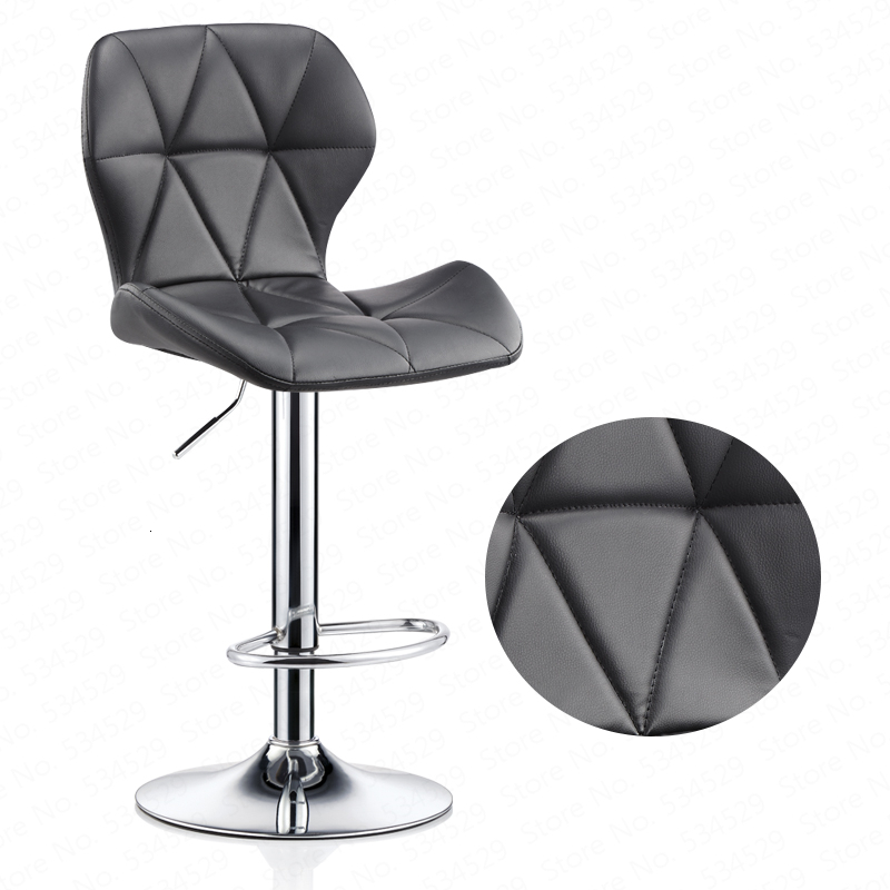Bar Chair Lift Modern Minimalist Home Rotating Bar Chair High Stool Front Desk Cash Register Chair Back Stool
