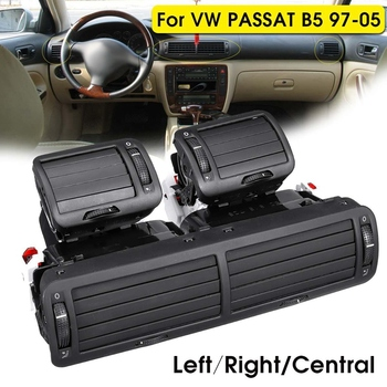 Front Dashboard Left + Right + Central Vent a / C Heater Air Conditioning Vent for Volkswagen Passat B5 1997 1998 1999 2000 20