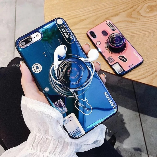 3D Camera Case For Samsung Galaxy Phone Models 6