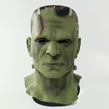 Máscara frankenstein diabo monstros cosplay máscaras zumbi mascarillas maldoso látex máscaras anime rosto mascaras halloween traje prop