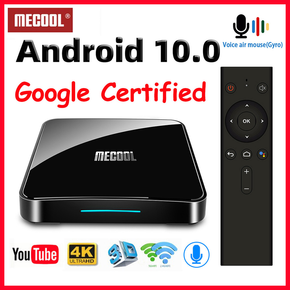 Mecool KM3 KM9 pro Android 10 TV Box Google Certified Smart TV Box Android 9 0 S905X2 USB3 0 2 4G 5G Wifi 4K Media Player TVBox