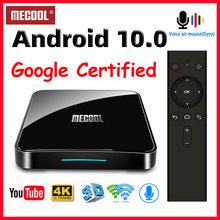 Mecool KM3/KM9 Pro Android 10 TV Box Google Bersertifikat Smart TV Box Android 9.0 S905X2 USB3.0 2.4G/5G Wifi 4K Media Player TVBox(China)