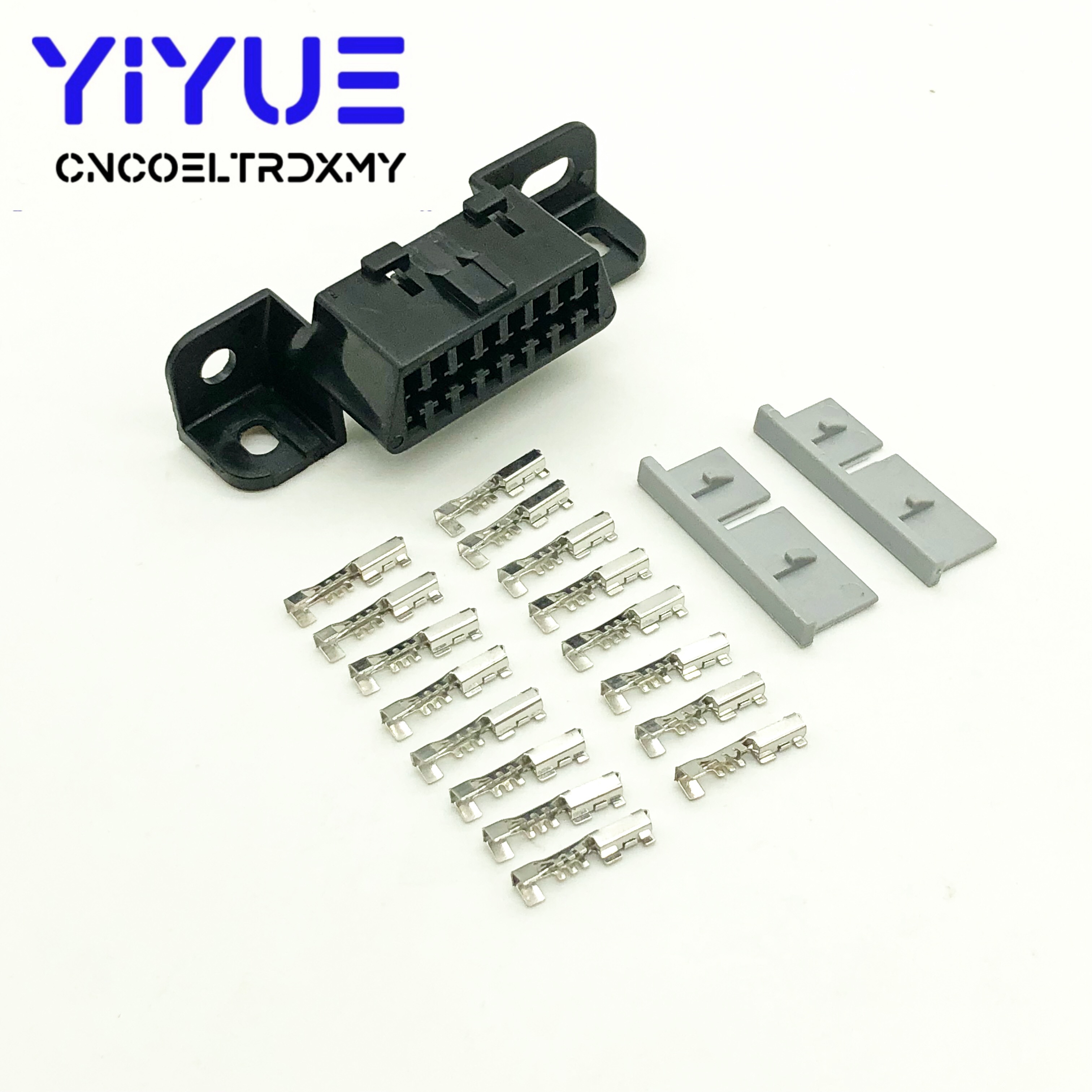 OBD2 16Pin Female Connector Obd 2 Adapter Diagnostic Interface Obd Ii Female Wire Sockets