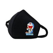 Anime  Doraemon Mouth Face Mask Dustproof Breathable Facial Protective Cute Unisex Cartoon Cover Masks