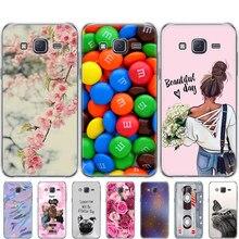 Caso TPU macio Para Samsung Galaxy J7 2015 Caso Capa de silicone Para Samsung Galaxy J7 2015 SM-J700F 5.5 polegadas J700 j7008 J700F J700H