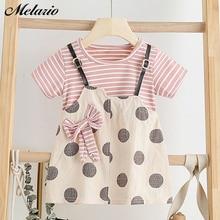 Melario Baby Girl Dress Summer Kids Sweet Dresses