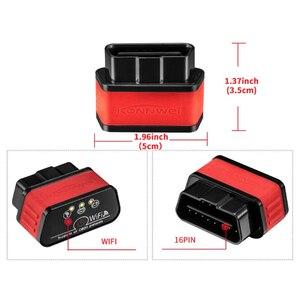 Image 5 - ELM327 WIFI Auto Diagnose Scanner Automotivo ODB 2 Autoscanner KW903 ULME 327 Wi fi OBD2 Bluetooth Adapter Für Iphone Android