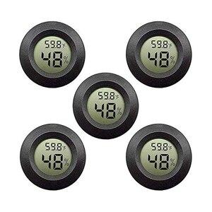 5-Pack Mini Hygrometer Thermom