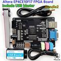 Новейший комплект для разработки ALTERA Cyclone IV EP4CE10 FPGA EP4CE10F NIOSII Board и USB Blaster downloader