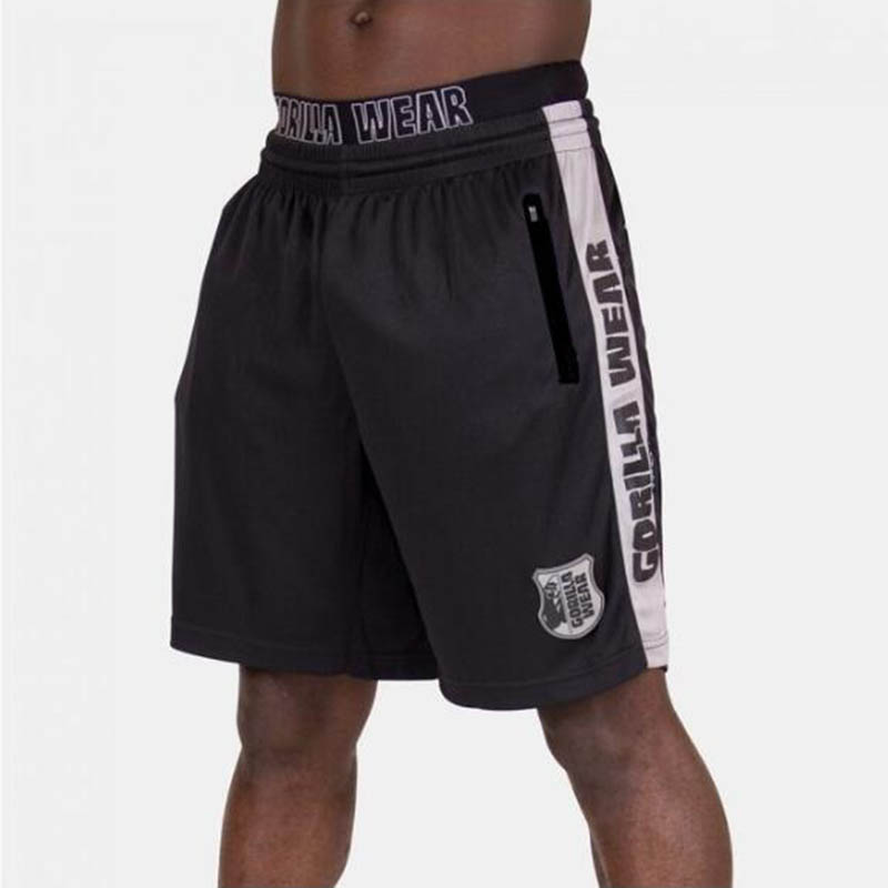 Summer New GORILLA WEAR Men's Sports Fitness Five-Point Pants Basketball Training Casual Shorts Outdoor Fashion Fitness Shorts