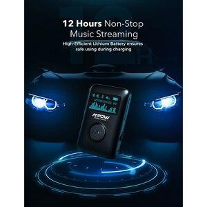 Image 5 - Mpow Bluetooth 5.0 Adattatore Wireless Ricevitore Audio Con Display OLED Musica In Streaming Adattatore 3D Surround Per Auto Aux Stereo di Casa