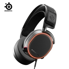 SteelSeries Arctis פרו גבוהה באיכות משחקי אוזניות היי Res רמקול נהגים DTS אוזניות: X v2.0 Surround למחשב, שחור