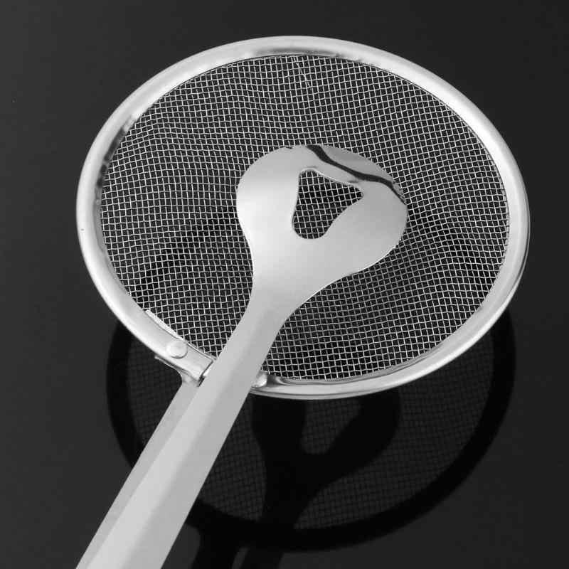 Cucina in acciaio inox cucchiaio filtro colino fritto cucchiaio di cibo olio di scarico cibo clip di coscia di pollo fritto filtro