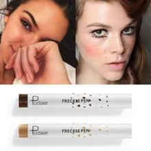 Natural Lifelike Freckle Pen Soft Brown Freckle Pen Makeup Waterproof Dot Spot Pen Create the Most Effortless Sunkissed Look