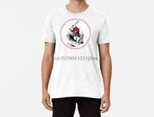 Men Funy T-shirt Alice in Wonderland White Rabbit Checking his Watch Vintage Alice tshirs Women T Shirt(China)