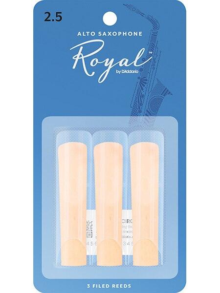 Rjb0325 Rico Royal bâtons de marche pour saxophone alto, taille 2.5, 3 pièces, Rico